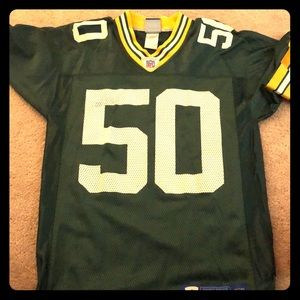 A small Green Bay Jersey #50